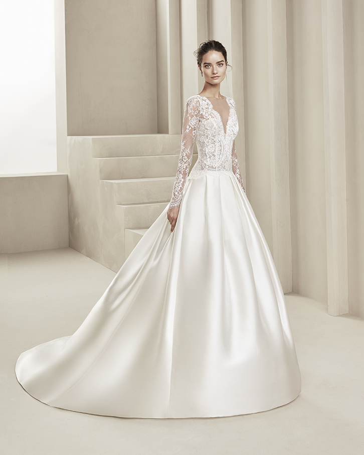 vestidos de novia alma novias en zaragoza y madrid | alma nupcial